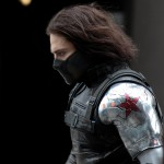 Close-Up: Sebastian Stan as The Winter Soldier from CAPTAIN AMERICA sequel filming